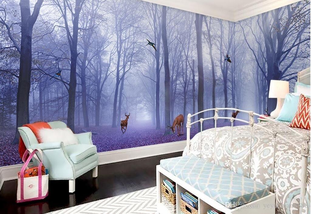 fototapet personalizat pentru casa capitol din poveste padure pentru orice perete din casa ta